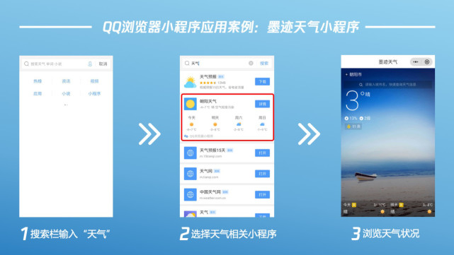QQ浏览器推小程序