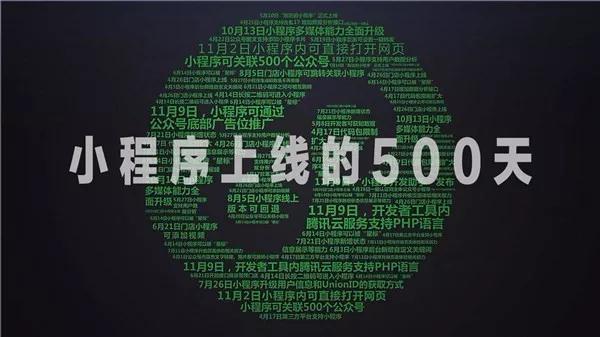 小程序上线的500天